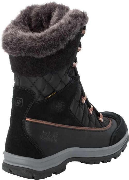 Čierno-šedé dámske zateplené topánky