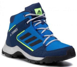 Dámske modré outdoorové topánky Adidas Terrex HyperHiker