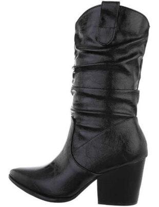 Dámske štýlové westernové topánky na jeseň a zimu