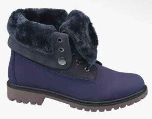 Dámske zimné topánky s kožušinkou a nastaviteľnou výškou