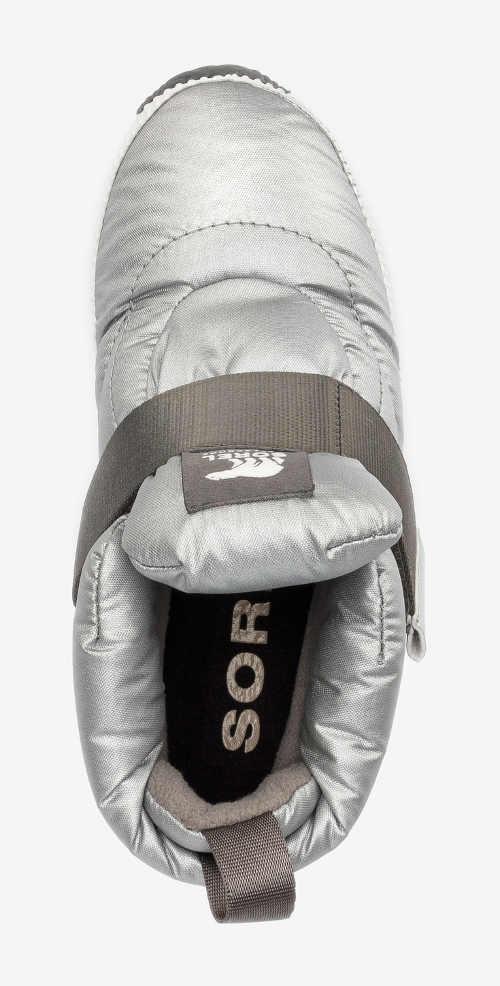 Šedé športové dámske zimné topánky Sorel