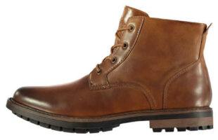 Pánske zimné členkové worker topánky Soviet Islin