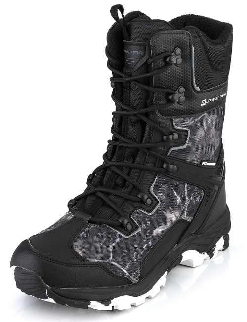 Vysoké pánske zimné topánky Alpine Pro