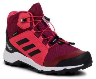 Dámska outdoorová zimná obuv adidas Terrex Mid GTX K GORE-TEX