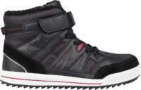 Lacné členkové šedé detské zimné topánky Lewro CUBIQ II