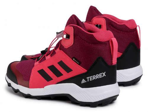 Outdoorové topánky Adidas v dámskom farebnom prevedení