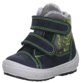 Chlapčenské zimné topánky GROOVY so zapínaním na suchý zips