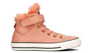 Dámske zateplené členkové topánky Converse