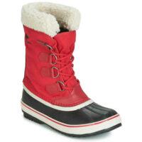 Štýlové dámske zimné topánky so zatepleným vnútrom
