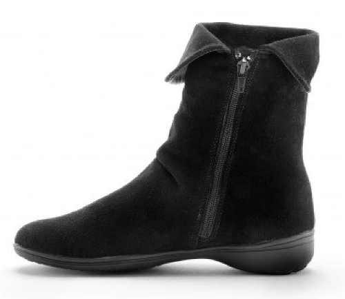 Čierna členková dámska zimná obuv Blancheporte
