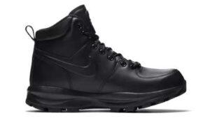 Členková obuv Nike v čiernej farbe