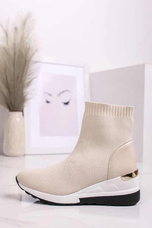 Dámske moderné členkové topánky