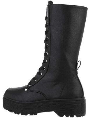 Dámske módne vysoké šnurovacie topánky
