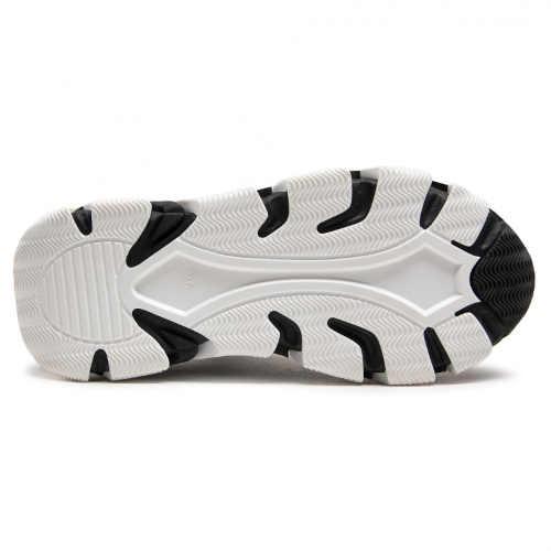 Dámske topánky v bielej a čiernej farbe