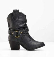 Dámske topánky v modernom kovbojskom štýle
