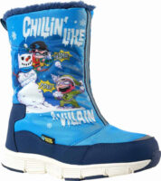 Kvalitná detská zimná obuv Warner Brothers CHILLIN HIGH s veselou potlačou