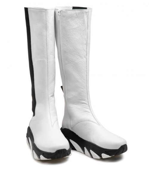 Zimné dámske vysoké topánky