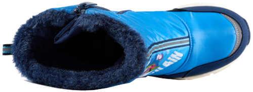 Zimné detské topánky s potlačou