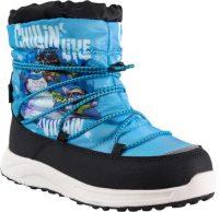 Detské zimné topánky s veselou potlačou