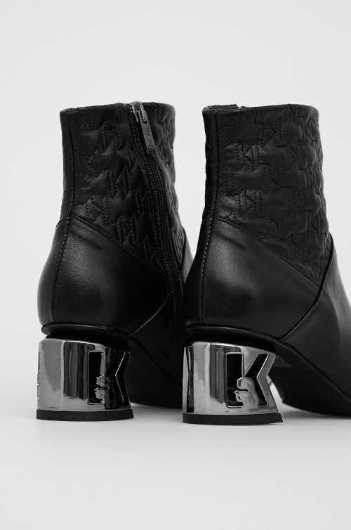 Luxusné kožené členkové topánky