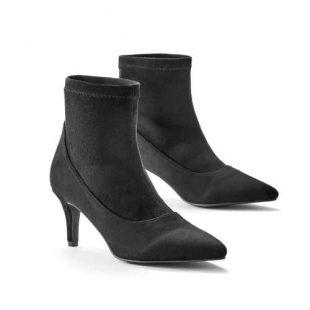 Moderné topánky na nízkom podpätku
