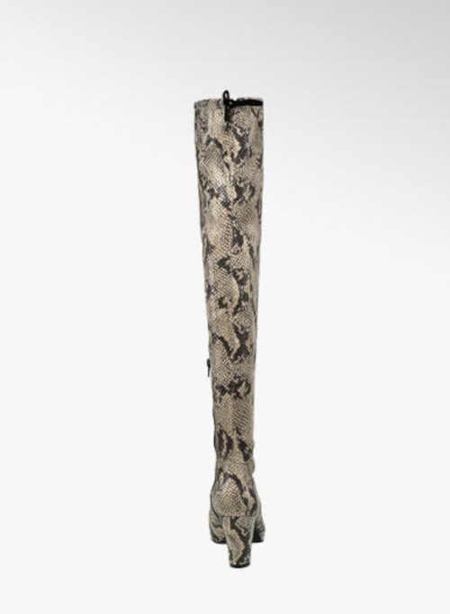 Moderné topánky nad koleno Deichmann