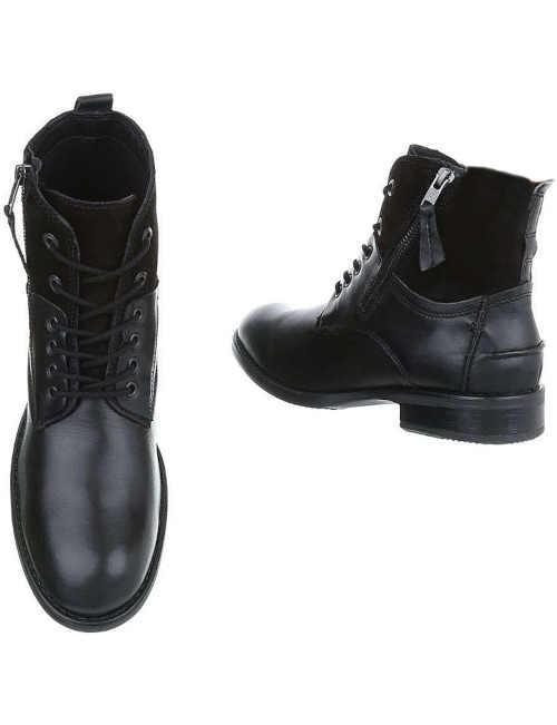 Zimné pánske topánky so zipsom